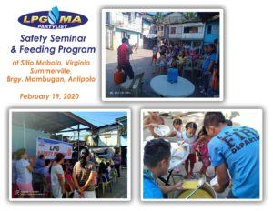 LPGMA holds Safety Seminar and Feeding Program
