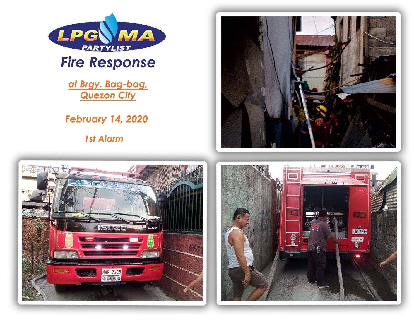 LPGMA in Barangay Bag-bag Quezon City