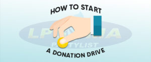 LPGMA on How To Start A Donation Drive