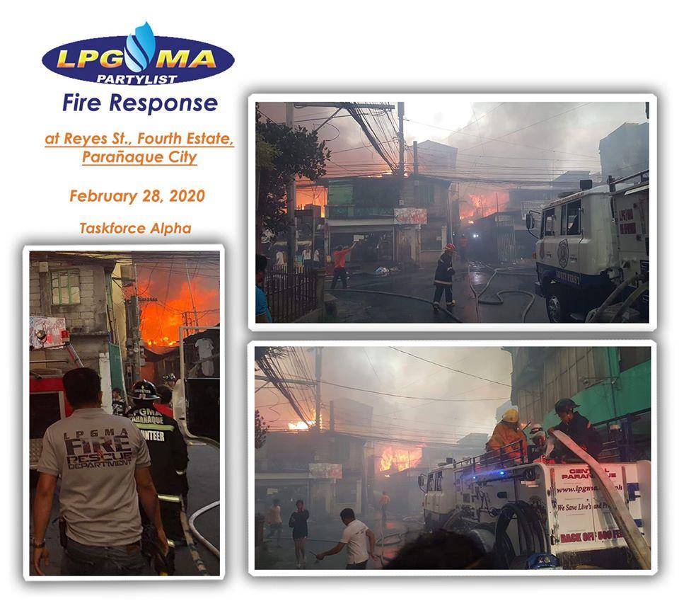 LPGMA Fire Response in Fourth Estate