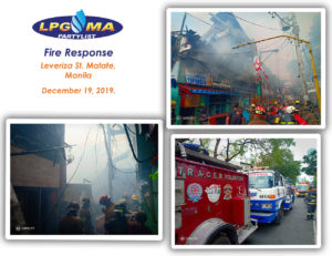LPGMA Fire Response in Malate