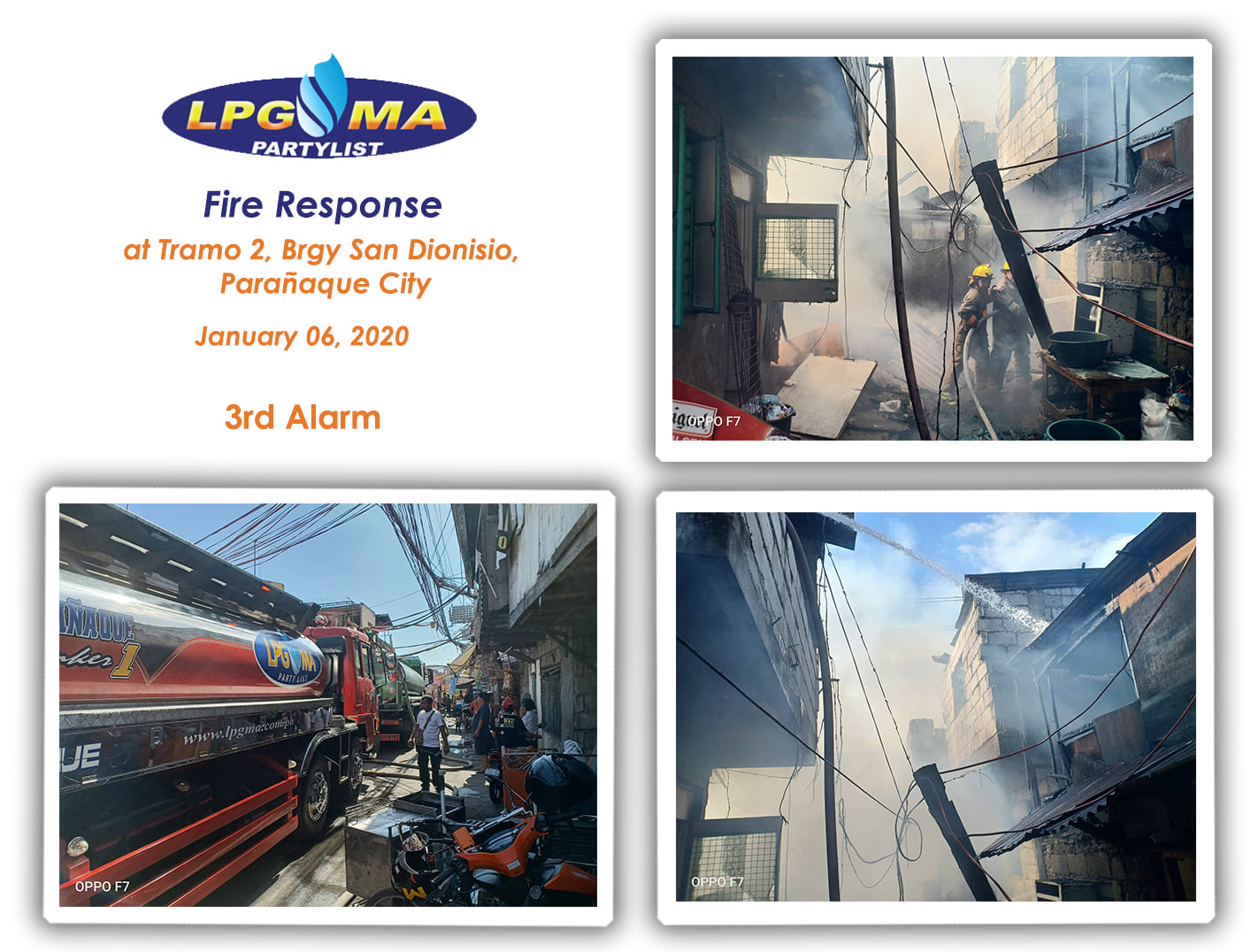 Jan 6 - LPGMA Fire Response