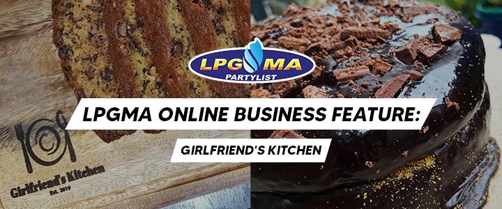 Girlfriend's Kitchen: Online Business Feature