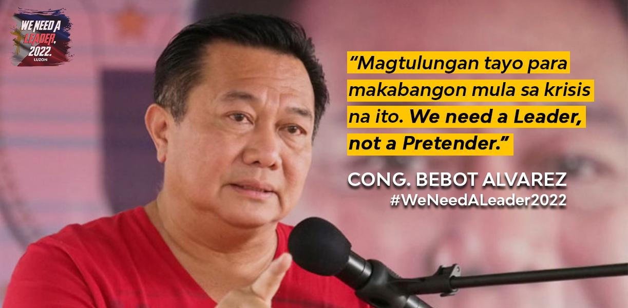 We need a leader, not a pretender — Alvarez