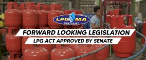 A counterpart bill, LPG Act, has been filed at the House of Representatives by the LPG Marketers Association (LPGMA)